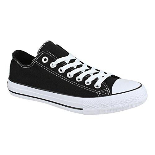 Elara Unisex Sneaker | Damen Herren | Low Top | Chunkyrayan Schwarz