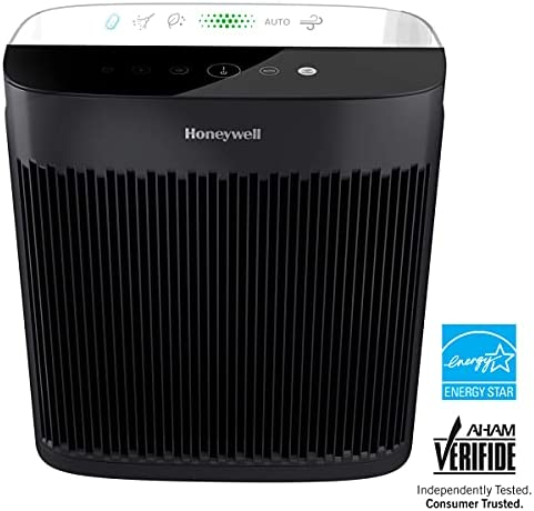 Honeywell Insight HPA5300 HEPA Purifier Allergen Remover for Extra Large 500 Sq. Ft. Room with Display Panel, Sensor, Air Quality Indicator, Black