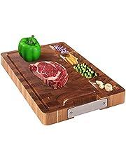 HHXRISE Acacia Wood Cutting Board for Kitchen…