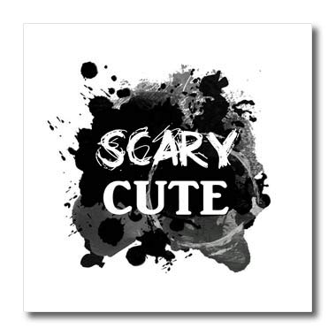 3dRose InspirationzStore - Occasions - Scary Cute - Funny Halloween Humor - Humorous So Sweet its Spooky - 8x8 Iron on Heat Transfer for White Material (ht_317322_1)]()