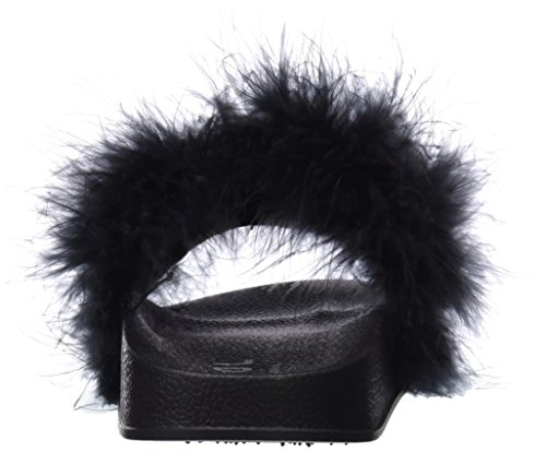 Sandales Femme Bout blk Noir Coolway Makiki Ouvert 8wZnqE5I