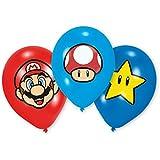 Globos Látex Super Mario