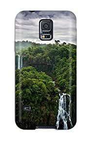 Lovers Gifts Series Skin Case Cover For Galaxy S5(waterfall) 1691028K62821339