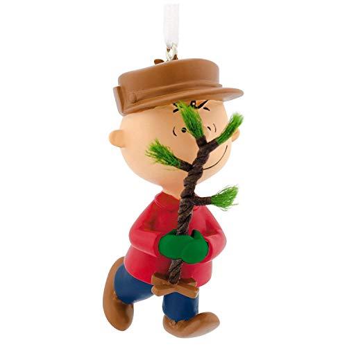 HMK Hallmark Peanuts Charlie Brown Christmas Tree Ornament 2018