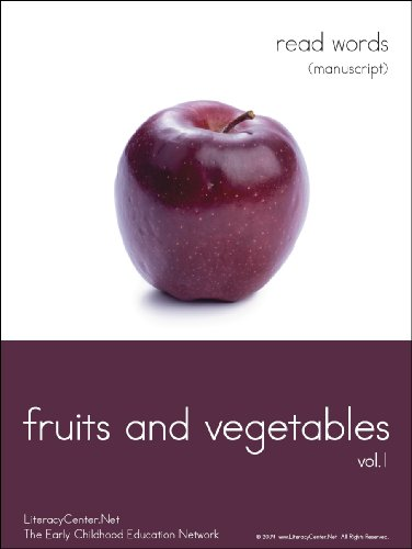 Fruits and Vegetables (LiteracyCenter Education Network Book 1)