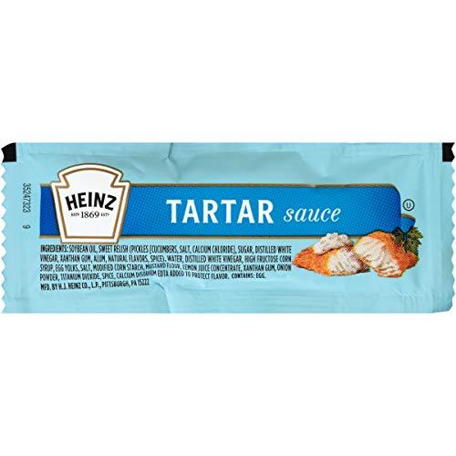 Heinz Tartar sauce single Serve (0.42 oz Packets, Pack of 500)