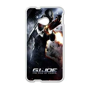 Diy Phone Cover G.I. JoeThe Rise of Cobra for HTC One M7 WEQ349204