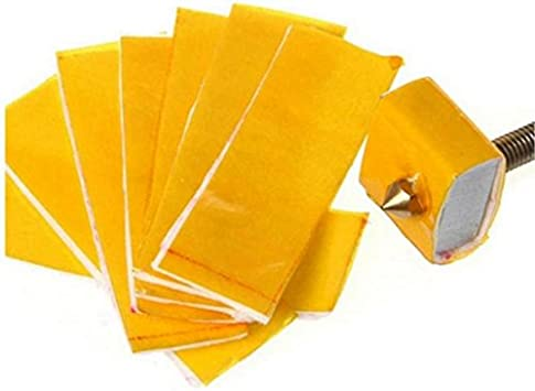 5pcs 3D Printer Heating Block Cotton Hotend Nozzle Heat Insulation 3mm Thick PIC