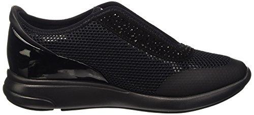 Geox D Ophira E, Zapatillas para Mujer Schwarz (BLACKC9997)