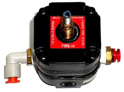 Marsh Bellofram 960-029-000 Type 10 HR High Relief Capacity Regulator, 2-120 PSI, 1/4'' NPT, 14 scfm by Marsh Bellofram