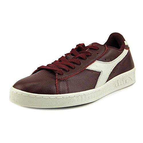 Diadora Game L Low Waxed Women US 8.5 Purple Sneakers