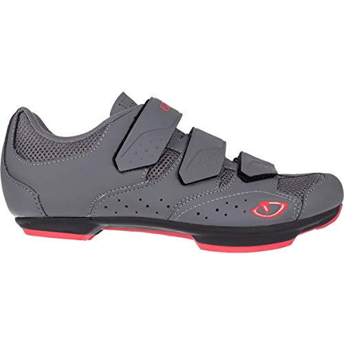 Giro Rev Cycling Shoes - Women's Titanium/Bittersweet 43