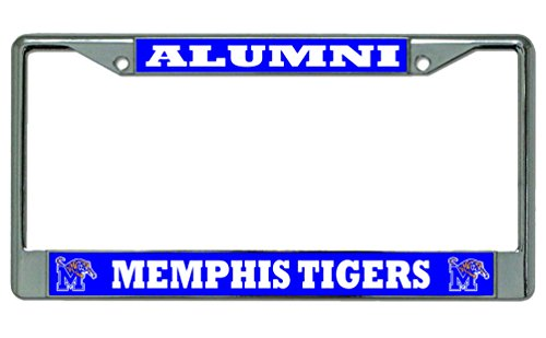 (Memphis State Tigers Alumni Photo License Plate Frame)