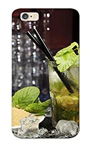 5c99a1b5183 Tough Iphone 6 Case Cover/ Case For Iphone 6(cocktail Mojito Drink Lime Ice Mint Sugar Glass Alchohol ) / New Year's Day's Gift