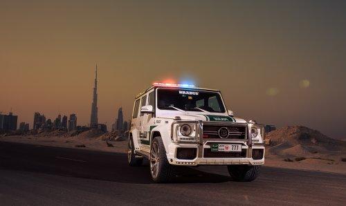 brabus-b63s-700-widestar-dubai-police-2013-car-art-poster-print-on-10-mil-archival-satin-paper-white