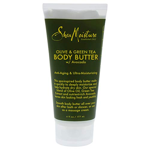 SheaMoisture 6 oz Olive & Green Tea Body Butter - Olive Butter Lotion