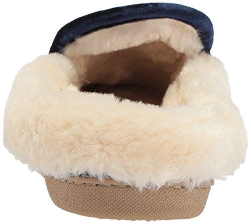 Steve Madden Womens Queenie Slipper Navy
