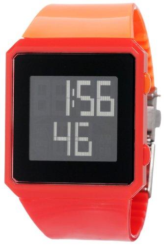 ELLETIME Women's EG50001P01E ELLE Girl Red and Orange Clock Lock Watch
