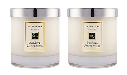 Price comparison product image Jo Malone™ Lime Basil & Mandarin Home Candle 200g - Pack of 2
