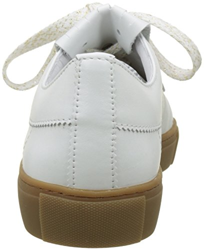 White Bensimon Para Off Blanco Zapatillas Chic Tennis Mujer UURq840w