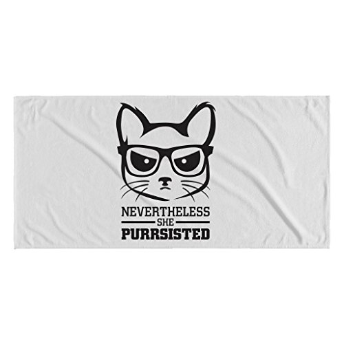 Nevertheless She Purrsisted | White 30