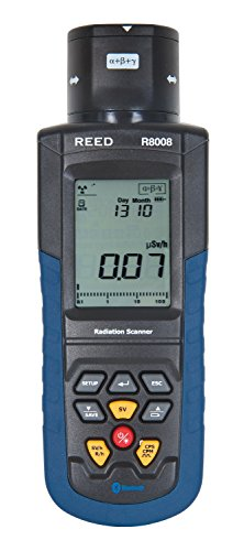 Radiation Detection Meter (REED Instruments R8008 Portable Radiation Meter)