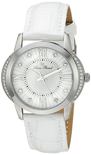 Lucien Piccard Women's LP-40001-02S-WHT Dalida Analog Display Quartz White Watch