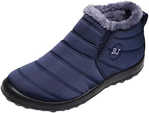 Hombre Mujer Botas de Nieve Antideslizante ZARLLE Zapatos