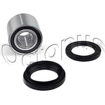 honda trx300fw 300 fourtrax 4x4 atv bearings & seal kit front wheel  88&90-2000