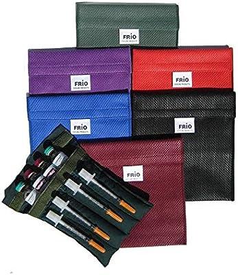 Frio - Bolsa isotérmica para mantener insulina, color morado, 14 x 15 cm: Amazon.es: Salud y cuidado personal
