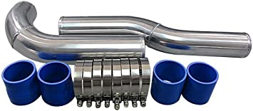 """3.5/"""" Silicone Hose//Intake//Turbo//Intercooler Pipe Straight Coupler BLK For Dodge"""