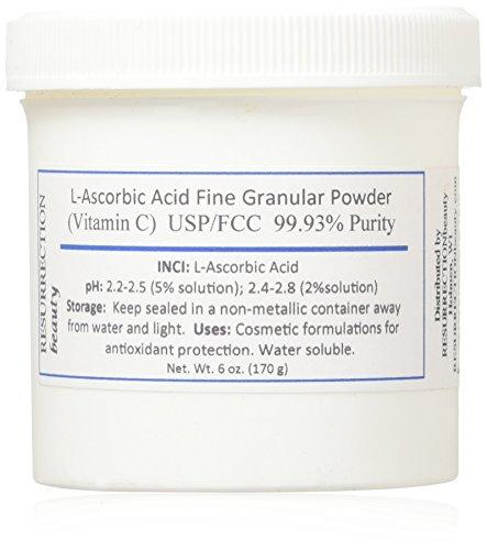 L Ascorbic Powder Vitamin Cosmetic Formulations product image