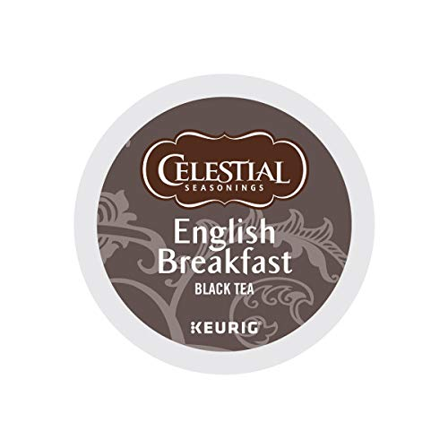 Celestial Seasonings, English Breakfast Black Tea, K-Cup Portion Pack for Keurig K-Cup Brewers (Pack of 48) (Black Tea K-cups)