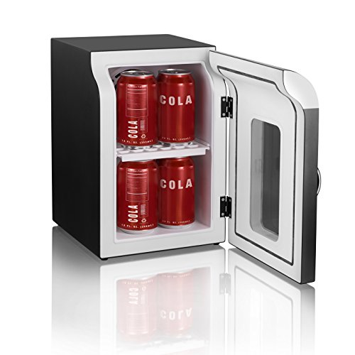 Mind Reader Compact Portable Personal Mini Fridge For
