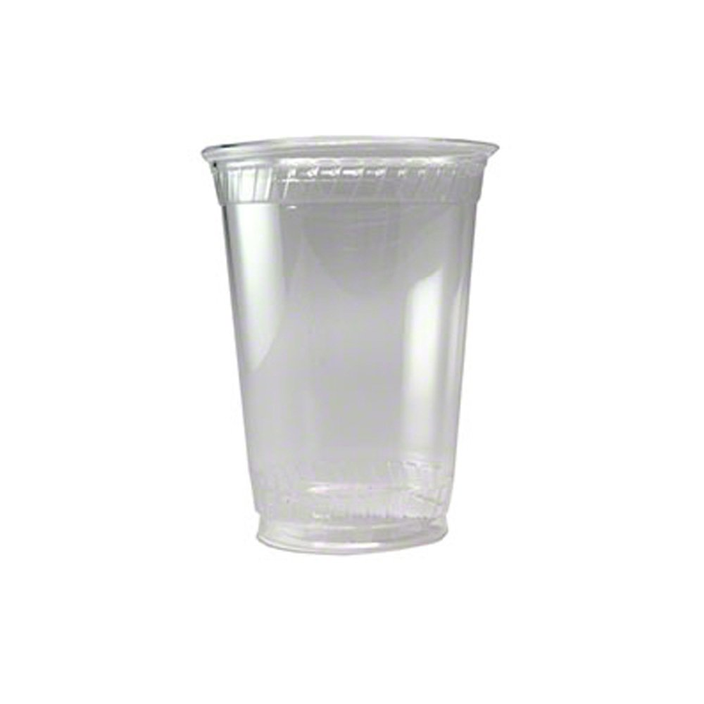 Fabri-Kal GC10 Greenware Cold Drink Cups, 10 oz., Clear