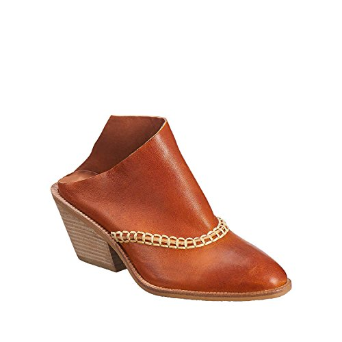 Womens Antelope Womens 558 Mule Antelope Tobacco Leather Cowgirl qrrPdwxCE