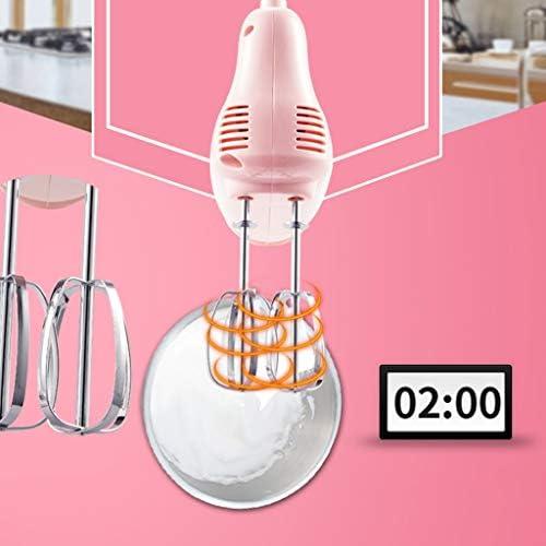 WZHZJ Rose Fouet, Batteur à Main électrique Compact for Whipping mélange Biscuits, gâteaux, pâte, pâtes, meringues