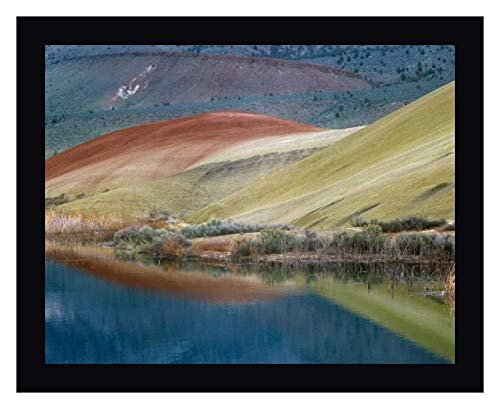 Painted Hills Reflected in Water, John Day Fossil Beds National Monument, Oregon by Tim Fitzharris 32