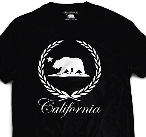 6a35d7ab128 California caddy Bear T shirt Killa Cali wreath Killafornia CA So Cal Nor  Fresh
