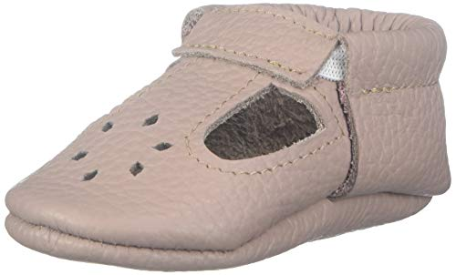 LittleBeMocs T-Strap Baby Moccasins (Italian Leather) Soft Sole Shoes for Boys and Girls | Infants, Babies, Toddlers