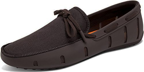 Go Tour Herren Driving Loafer Fashion Slipper Casual Slip auf Loafers Bootsschuhe für Strand, Pool, Stadt und Rundherum Komfort Braun