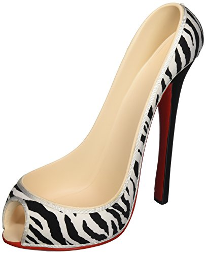 Wild Eye Designs High Heel Bottle Holder, Zebra (Heel High Acrylic)