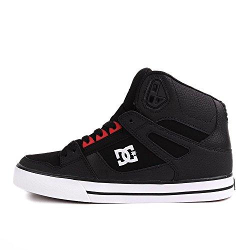 DC Shoes Spartan HI WC Shoe D0302523 - Zapatos de cuero nobuck para hombre Black