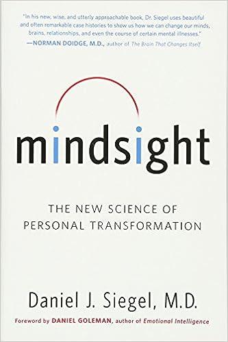 Mindsight - Daniel J Siegel