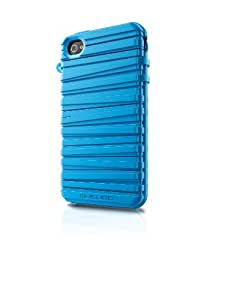 Musubo Rubber Band Case for iPhone 4/4S -Sky Blue