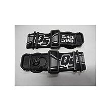 Roko Goggle Quick Release Speed Straps for Helmet Black