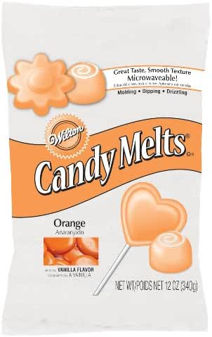 Wilton 1911-1360 Candy Melts, 12-Ounce, Orange