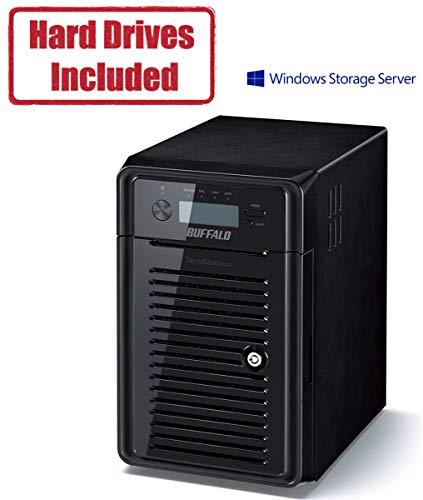 Buffalo TeraStation WSH5610DN Windows Storage Server 2016 HW RAID Desktop 48TB NAS Hard Drives Included
