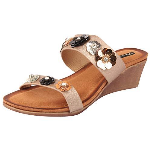 D SHOE LOUNGE Women Wedge Sandals