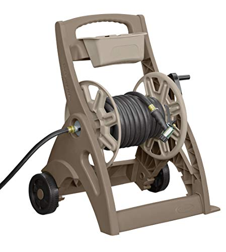 Suncast Hose Reel Cart - Suncast SFB205M 225-Foot Capacity Hosemobile Pro Hose Reel Cart with Aluminum In-Out Tube